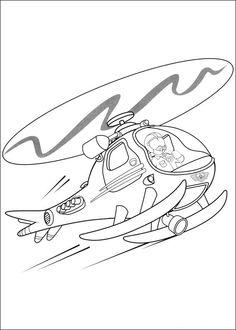 Brandweerman Sam Kleurplaten voor kinderen. Kleurplaat en afdrukken tekenen nº 36