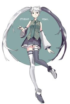 Othello Miku by alfalfalfAlfa on DeviantArt