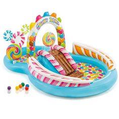 Baby Pool, Kid Pool, Pool Fun, Children Swimming Pool, Swimming Pools, Pool Play, Pool Toys, Backyard Water Parks, Candy