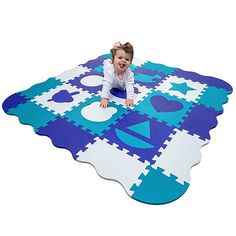 Baby Gyms & Playmats Mother & Kids Energetic 36 Pcs Per Set New Eva Childrens Puzzle Mat Digital Letter Educational Foam Mat Cold-proof Environmentally Friendly Baby Crawl Special Summer Sale