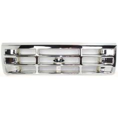 1992-1997 Ford F-series Grille, Plastic, Chrome . Please note: this 1992-1997 Ford F-series Grille, Plastic, Chrome is styled for a Ford Pickup. Order your 1992-1997 Ford F-series Grille, Plastic, Chr
