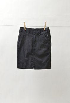 G1 Notch Back Skirt  http://store.g1goods.com/