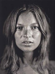Kate Moss by Chuck Close (2003) #supermodel