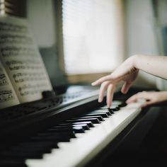 That feeling when you flutter your fingers across the keys is one of the most happiest things...