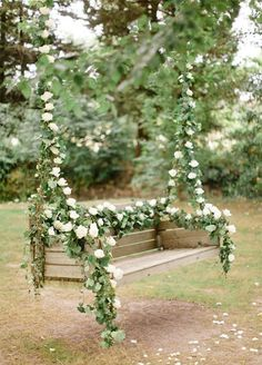 How To Throw The Ultimate Garden Wedding: #10. Swing Into Spring