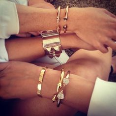 I want all of them!!  Vita Fede, Cartier and Hermes!