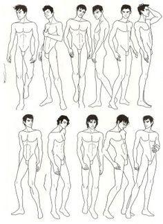 CROQUIS masculinOs MODA - Pesquisa Google | SILUETAS | Pinterest ...