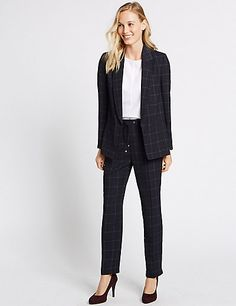 Checked Jacket & Trousers Set | M&S
