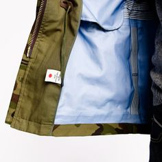 nanamica   Camo Gore Tex Cruiser Jacket