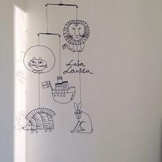 ROOMSさんの、100均,リサラーソン,ワイヤークラフト,ハンドメイド,モビール,バス/トイレ,のお部屋写真