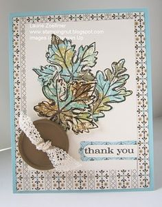 love the technique of different colors for the stamp...using sponge daubers