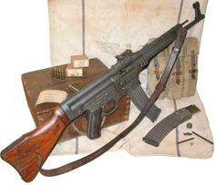 German Sturmgewehr 44- The first true assault rifle.