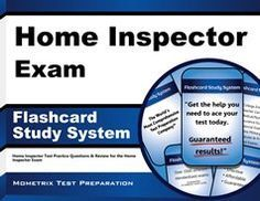 Our Home Inspector Exam Flashcard Study System helps test takers prepare for the National Home Inspector Examination (NHIE) and Online Inspector Examination, which is offered by the Examination Board of Professional Home Inspectors (EBPHI) and International Association of Certified Home Inspectors (InterNACHI) so that they can become a home inspector. #homeinspector