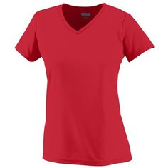 Augusta Sportswear WOMEN'S WICKING T-SHIRT ** Learn more by visiting the image link. (This is an affiliate link) #Shirts