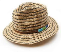 Michael Stars Wrapped and Banded Fedora Hat