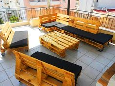 outdoor pallet furniture - Google Search