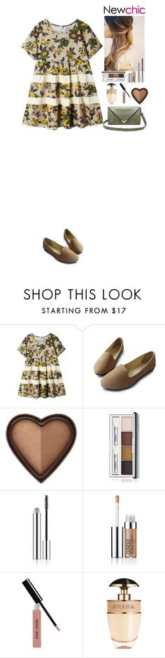 """""""Outfit Newchic Style"""" by eliza-redkina ❤ liked on Polyvore featuring Too Faced Cosmetics, Bobbi Brown Cosmetics, Prada, outfit, like, look and newchic"""