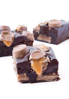 Rolo chocolate brownies