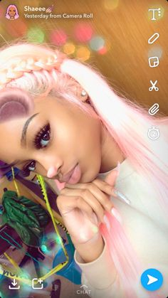 Dope Hairstyles, Weave Hairstyles, New Hair, Your Hair, Curly Hair Styles, Natural Hair Styles, Beauty And The Beat, Double Braid, Princess Hairstyles