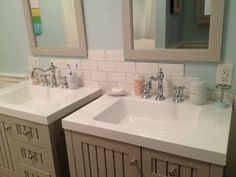 MONDAY MAKEOVER – 7 TIPS FOR TURNING A DRESSER INTO A BATHROOM VANITY
