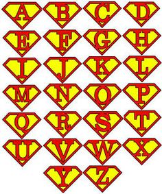 Personalised Initial Letter Superman Iron on Transfer - ClipArt Best - ClipArt Best