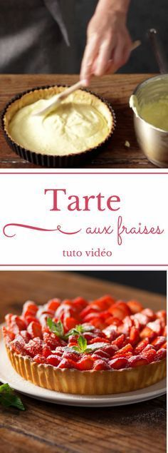 My fabulous strawberry pie - Portal - - Ma fabuleuse tarte aux fraises strawberry pie recipe - Tart Recipes, Sweet Recipes, Lemon Tarte, Fun Desserts, Dessert Recipes, French Tart, Strawberry Pie, French Strawberry Tart Recipe, Food And Drink