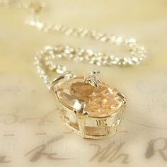MadWickedAwesome Shades Of Beige, Milk And Honey, Pink Champagne, Mellow Yellow, Stone Necklace, Peach Necklace, Diamond Are A Girls Best Friend, Sorbet, Jewelery