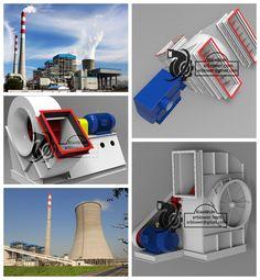 xianrun centrifugal fan application in power plant