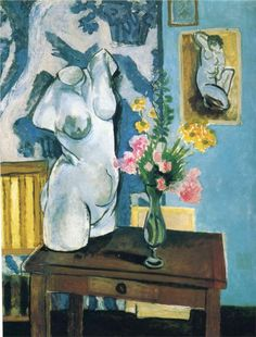 The Plaster Torso, 1919Henri Matisse I did a studies copy of this in college many years ago...