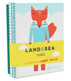 Land and sea notes Donna Wilson Lievelings