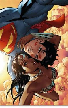 Wonder Woman and Superman; 36 Pictures Taken By Superheroes: A Selfie Before Saving The World I love this so much! Comic Book Characters, Comic Book Heroes, Comic Character, Comic Books Art, Comic Art, Superman Wonder Woman, Wonder Woman Comic, Hq Dc, Univers Dc