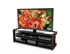 Sonax B-051-LMT Milan 60-Inch Quick Click TV/Component Bench - http://www.furniturendecor.com/sonax-b-051-lmt-milan-60-inch-quick-click/ - Categories:Dining Room Furniture, Dining Room Sets, Furniture, Home and Kitchen, Home Entertainment Furniture, Television Stands and Entertainment Centers
