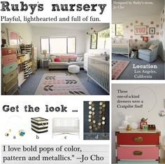 Ruby's nursery: Playful, lighthearted and full of fun.