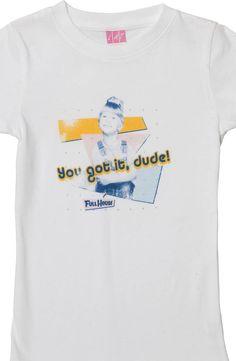 Little Girls Michelle Full House T-Shirt: Full House Girls T-shirt