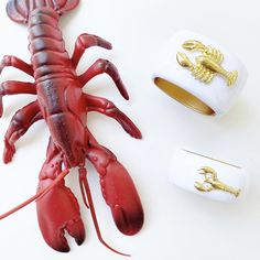 Lobster Fest, Lobster Dinner, Holiday Gift Guide, Holiday Gifts, Statement Jewelry, Color Pop, Spring Summer, Fancy, Bracelet