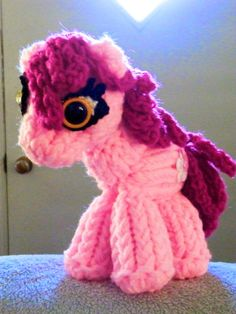 Loom Knitting Horse, or My Little Pony