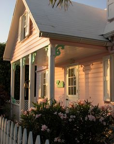 Pretty in Pink Coastal Living ⚓ Beach Cottage Life ⚓ Hopetown, Abaco (Bahama Out Islands) ⚓ René Marie