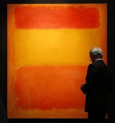 MARK ROTHKO - Orange, Red, Yellow 1961 / On May 08 this  Rothko oil painting set a new auction record for post-war art at Christie's New York soaring to 87 million dollars - A great figure among the New York School painters,  Rothko moved through many artistic styles until reaching his signature 1950s motif of soft, rectangular forms floating on a stained field of color... / / Was he the most talented abstract-expressionist?  MARK ROTHKO, SOUL COLOURIST - Coming soon in Art Democracy at…