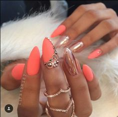 I like this coral matte color @agirllikedee