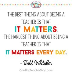 Tips for new teachers to be successful in the classroom. Here are my top teacher tips and lessons I have learned while teaching. Teacher Quotes Quotes for Teachers Teacher Memes, Teacher Education, Education Quotes For Teachers, Quotes For Students, New Teachers, Teacher Hacks, Preschool Teacher Quotes, Quotes About Teachers, Thoughts For Teachers