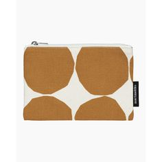 Kaika Pienet Kivet pouch - cotton, beige - All items - Home  - Marimekko.com Cosmetic Pouch, Marimekko, Beige, Stone, Prints, Pattern, Cotton, Rock, Patterns
