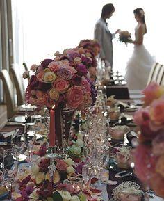 PEU・CONNU [MARIAGE]TABLE DE FLEURS #02