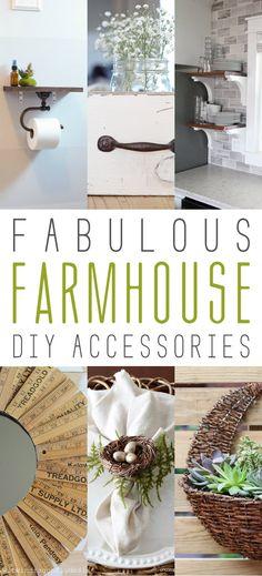 Fabulous Farmhouse DIY Accessories - The Cottage Market