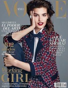 Alma Jodorowsky, Vogue Magazine [Mexico] (October 2015)