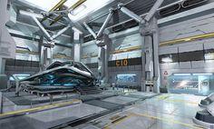 ArtStation - Star citizen - Astro Armada preconcept, Nicolas Ferrand