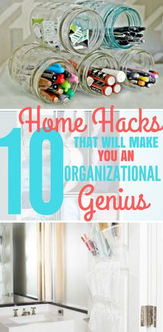 10 Ways to Organize Your Whole House.These 10 Genius Home Organization Hacks are Easy and Life Changing!These 10 Home Organization Hacks are THE BEST!