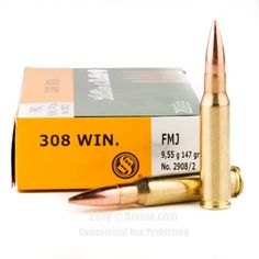 Sellier and Bellot 308 Win Ammo - 500 Rounds of 147 Grain FMJ Ammunition #308Winchester #308WinAmmo #SellierandBellot #SellierandBellotAmmo #SellierandBellot308Win #FMJAmmo