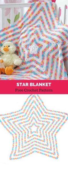 Best Picture of Crochet Star Blanket Pattern Crochet Star Blanket Pattern Star Blanket Free Crochet Pattern All About Patterns Crochet Afghans, Crochet Star Blanket, Crochet Star Patterns, Star Baby Blanket, Crochet Stars, Love Crochet, Knitting Patterns, Crochet Blankets, Baby Blankets