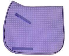 Lilac | Lavender Purple Dressage Saddle Pad| Bon-Vivant Equestrian