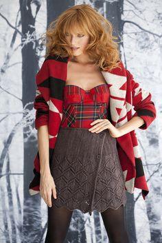 Vogue Knitting knit skirt